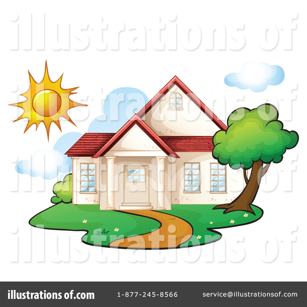 Royalty Free RF House Clipart Illustration 1140881 By Graphics