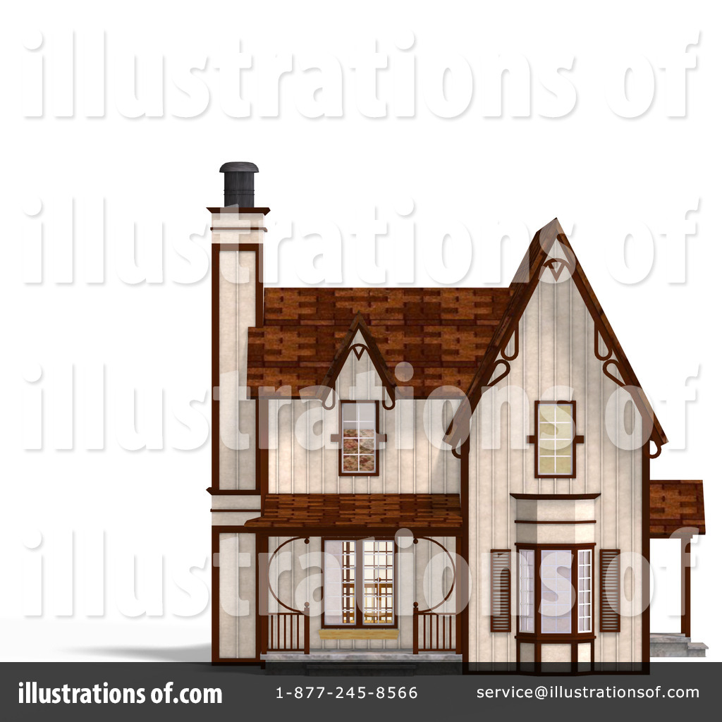 Royalty Free RF House Clipart Illustration 1073716 By Ralf61