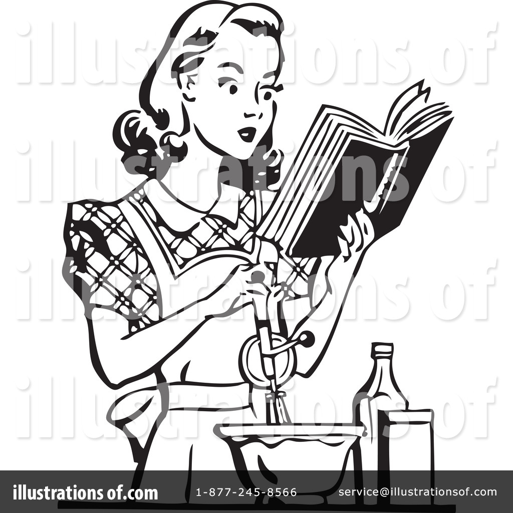 Housewife Clipart #210012 - Illustration by BestVector