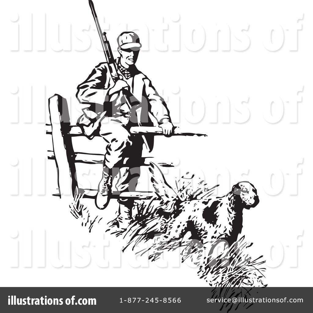 hunting clipart 210480 illustration by bestvector rh illustrationsof com fox hunting clipart free deer hunting clipart free