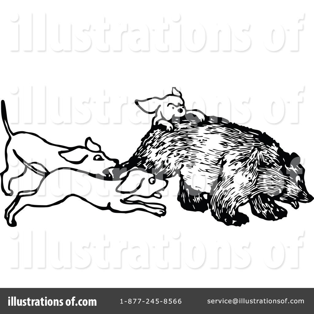 Hunting Clipart #1119558 - Illustration by Prawny Vintage