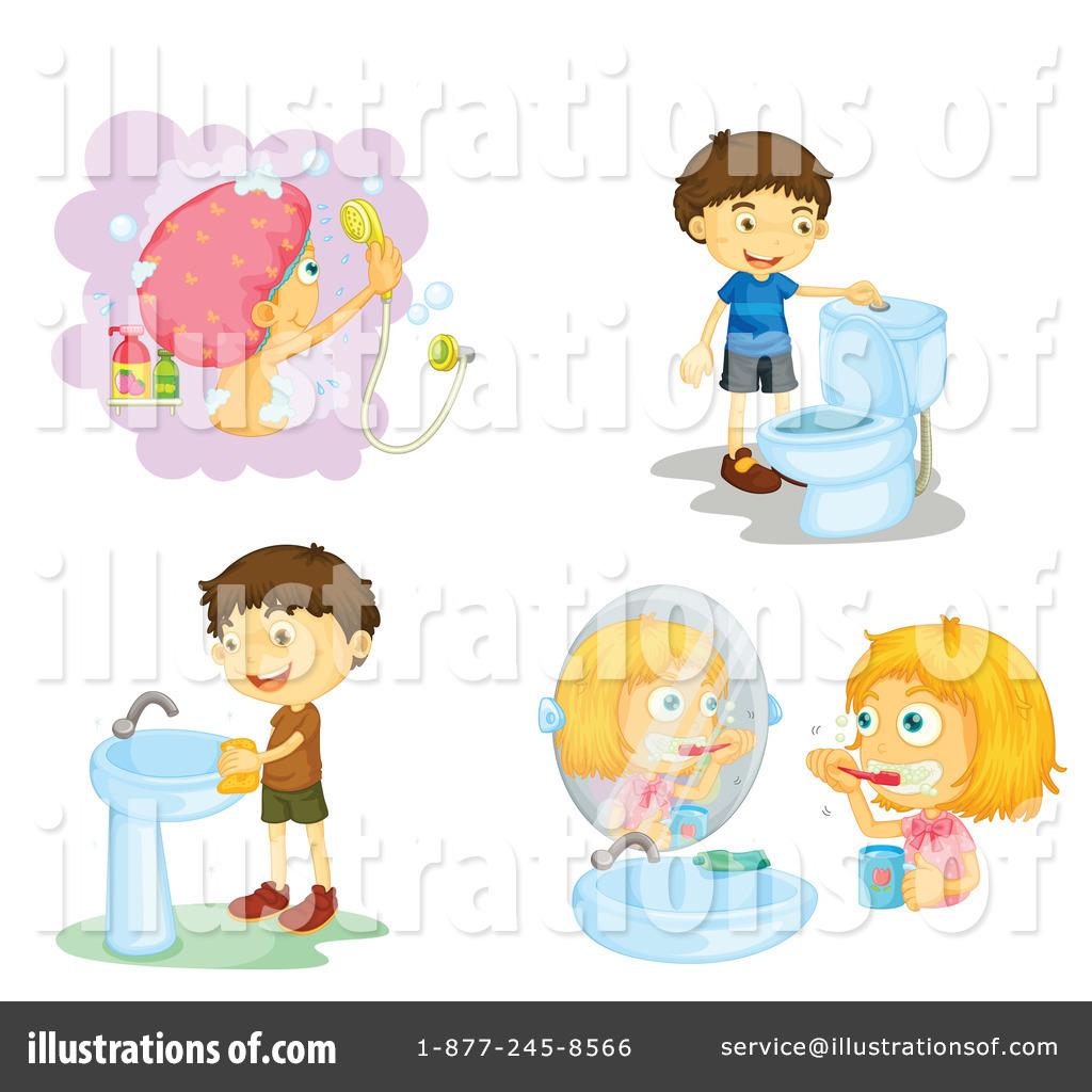 Hygiene Clipart #1134258 - Illustration by colematt