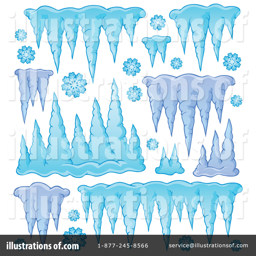 Icicle Clipart #1214279 - Illustration by visekart
