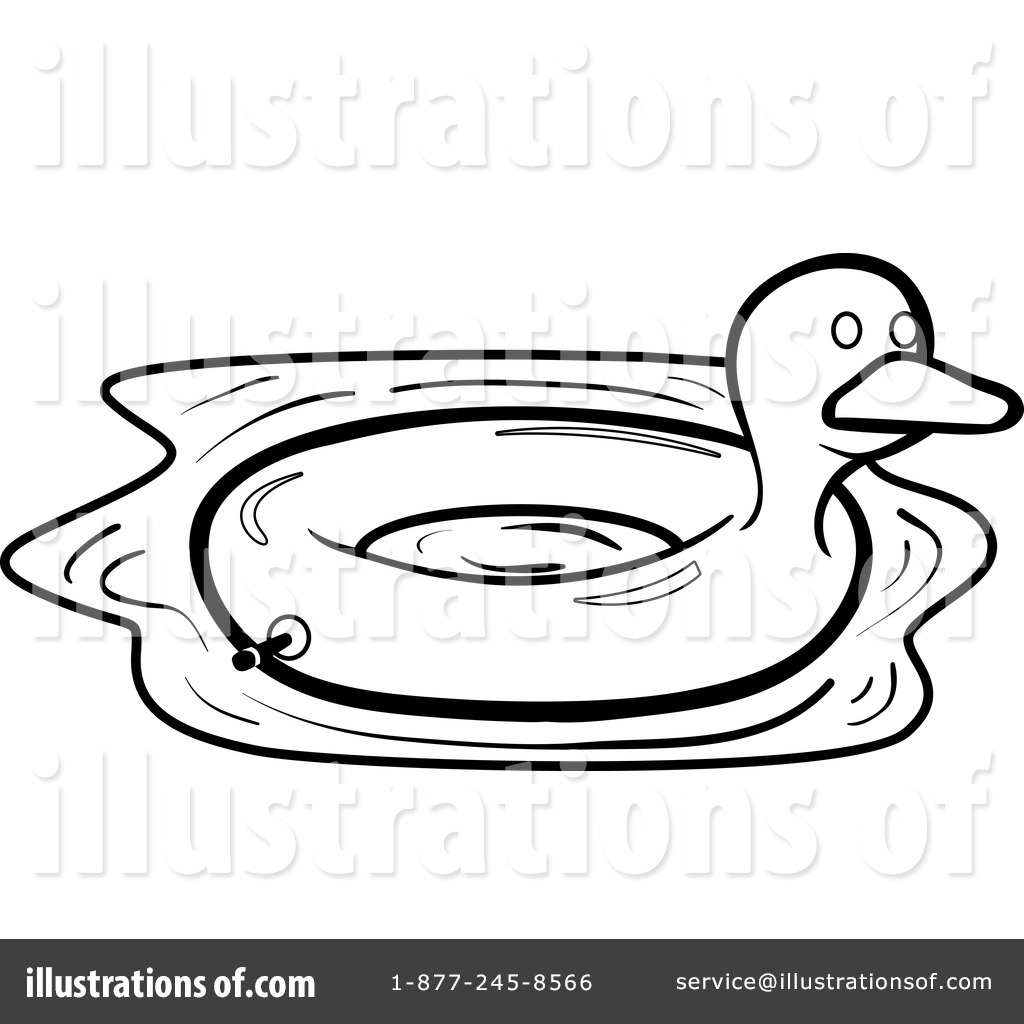 Inner Tube Clipart 1156322 Illustration By Cory Thoman