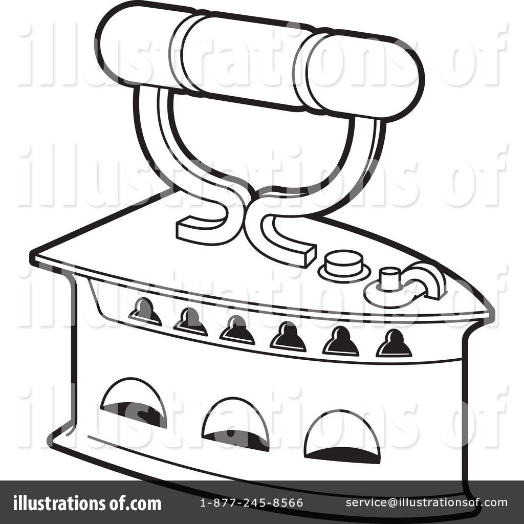 Iron Clipart #1265540 - Illustration by Lal Perera