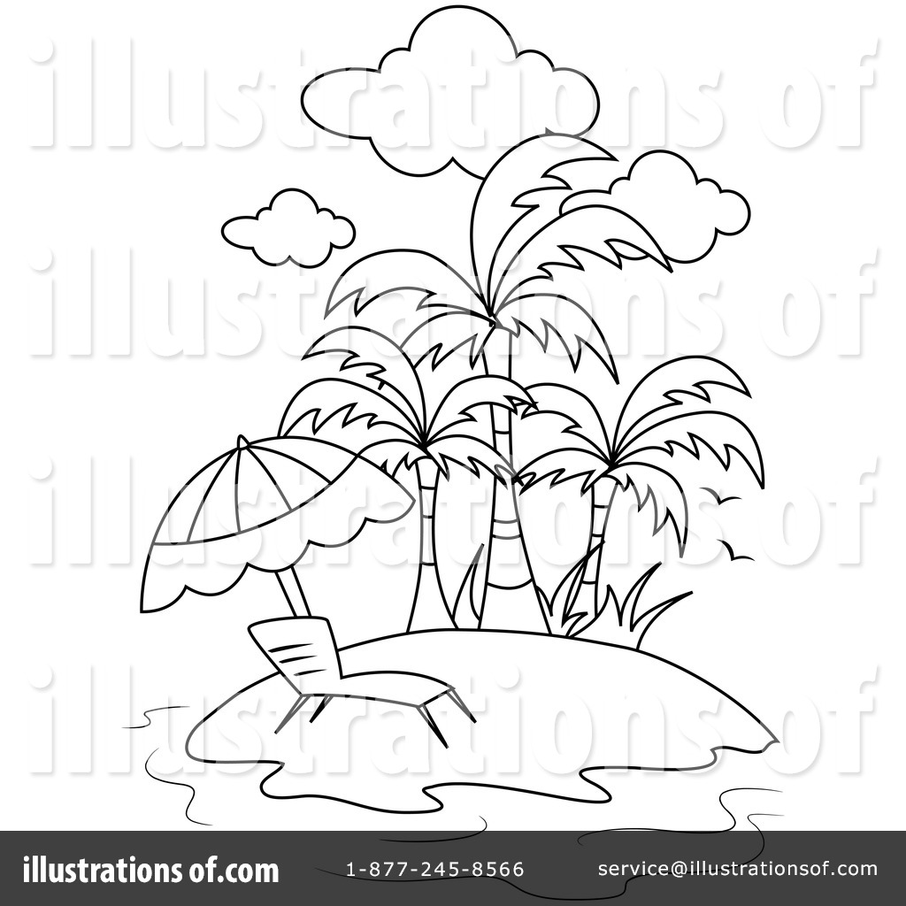 Island Clipart 1049899 Illustration By Bnp Design Studio