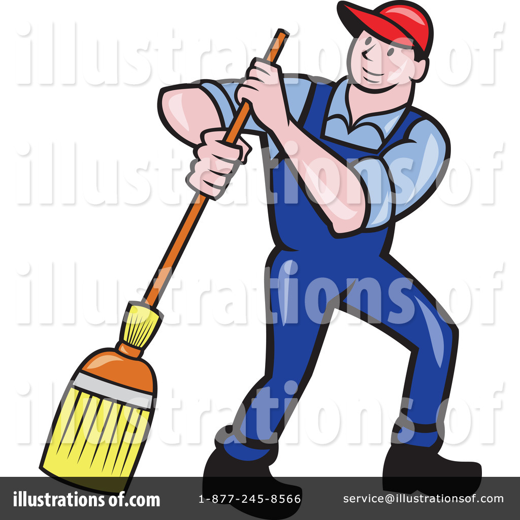janitor clipart 1246491 illustration by patrimonio rh illustrationsof com janitorial clipart janitorial clipart free