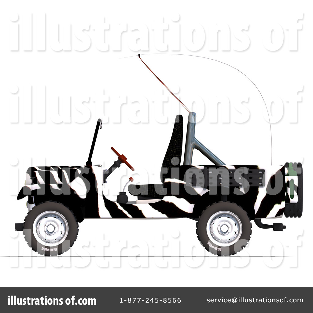 Jeep Wrangler Clipart 1075870 Illustration By Ralf61