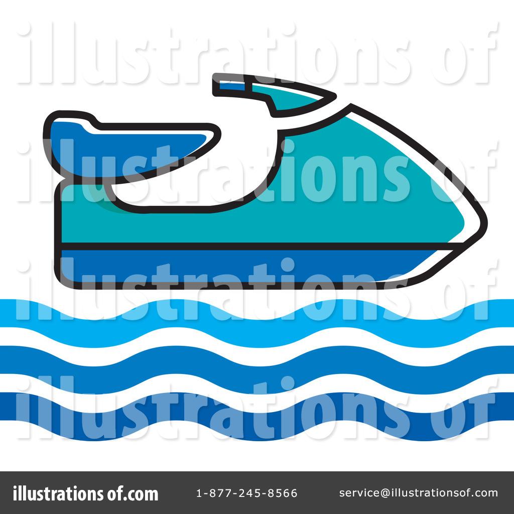 Jet Ski Vector - Jet Ski Clip Art, HD Png Download - kindpng