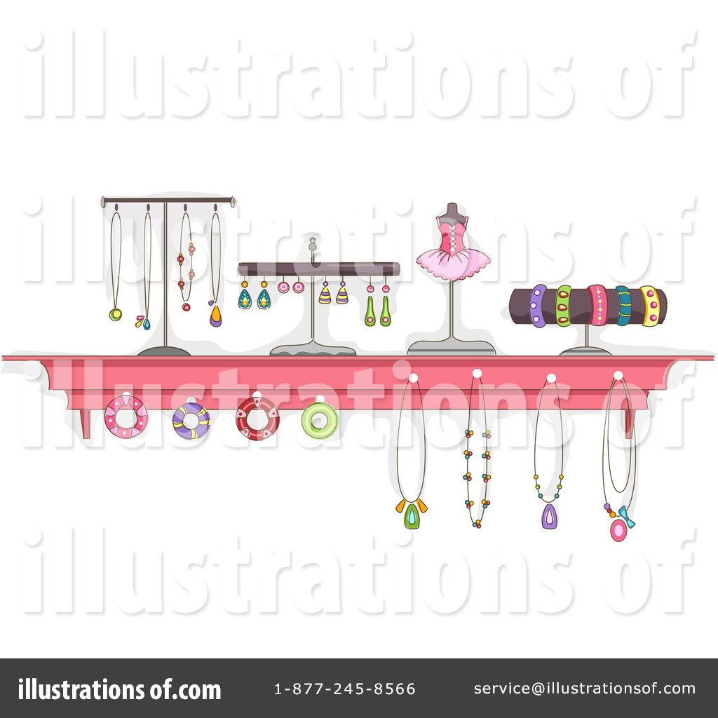 jewelry clipart 1246233 illustration by bnp design studio rh illustrationsof com free clipart jewelry making free jewelry clipart downloads