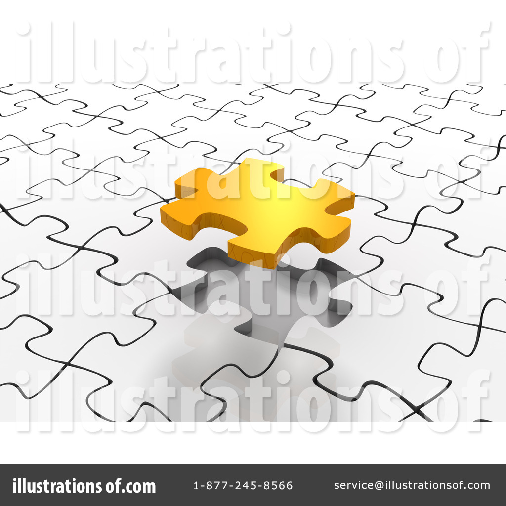 jigsaw puzzle clipart 63743 illustration by tonis pan