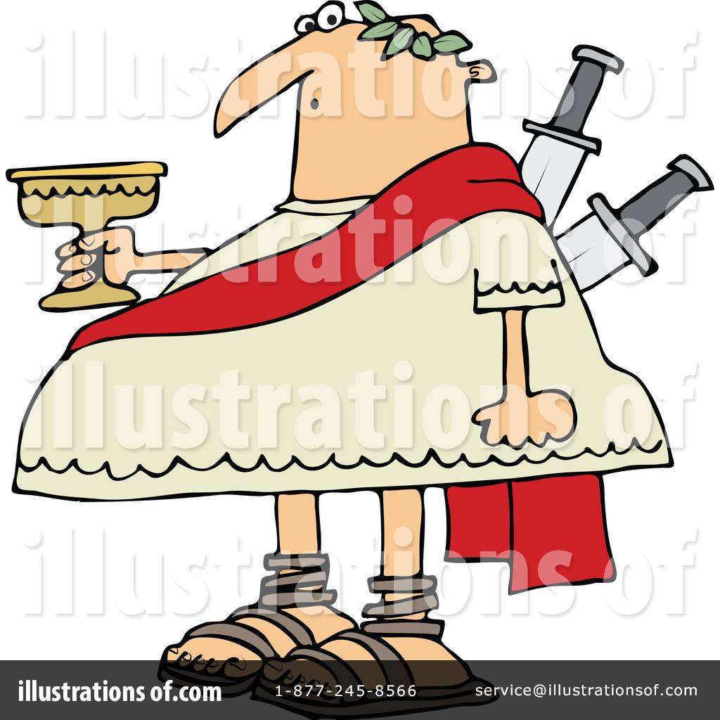 julius caesar clipart 1297785 illustration by djart rh illustrationsof com
