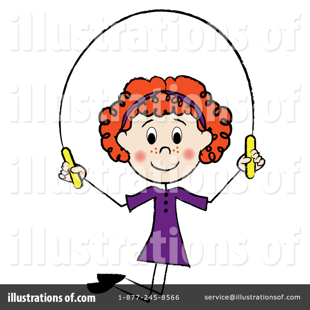 Clip Art Jump Rope Clipart jumping rope clipart 76528 illustration by pams royalty free rf stock sample