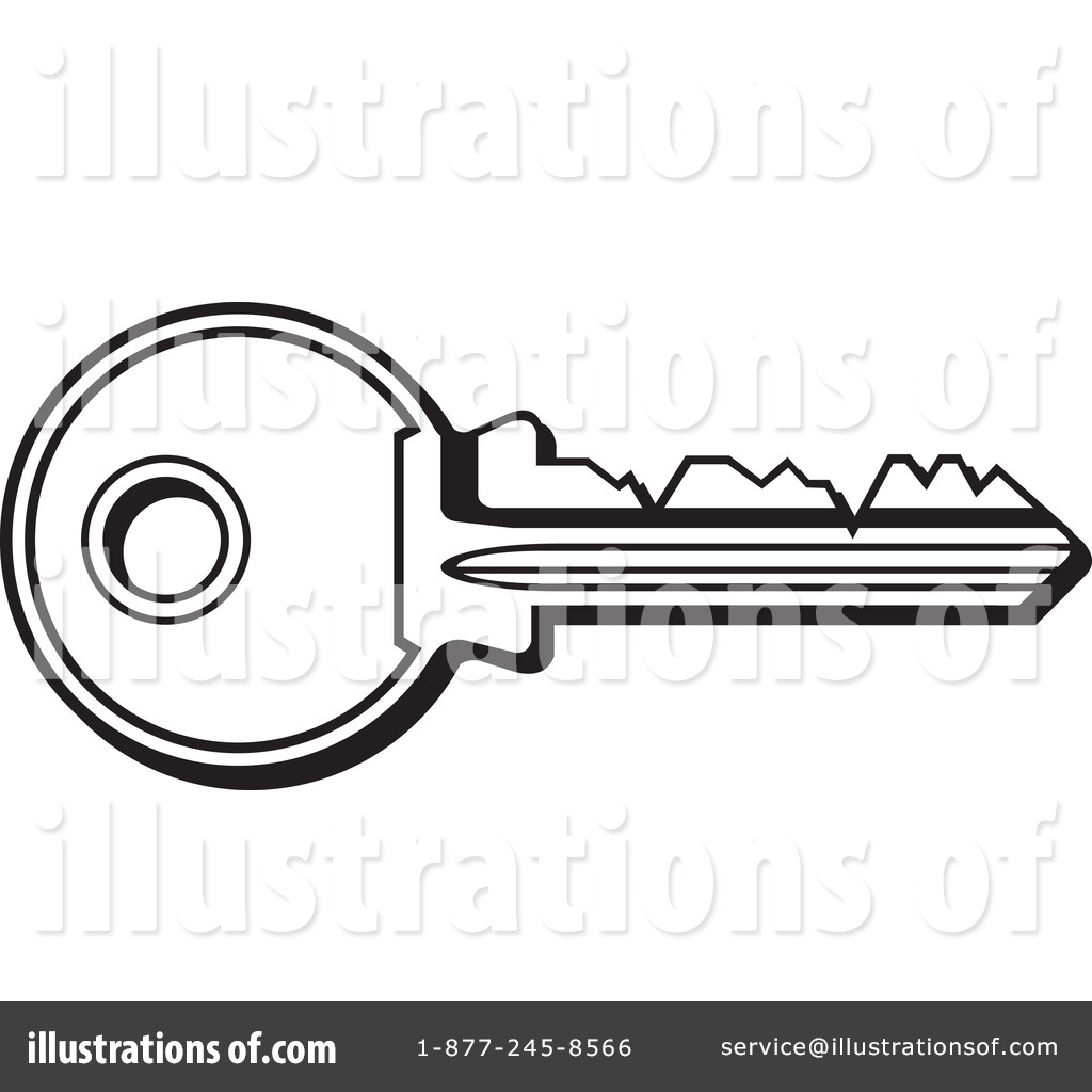 key clipart 1051883 illustration by any vector