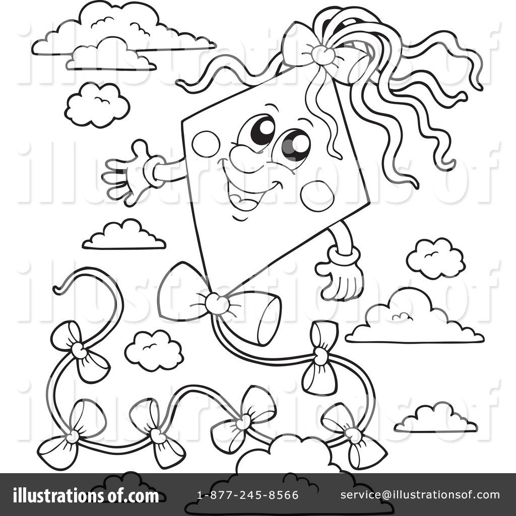 kite clipart 1079371 illustration by visekart