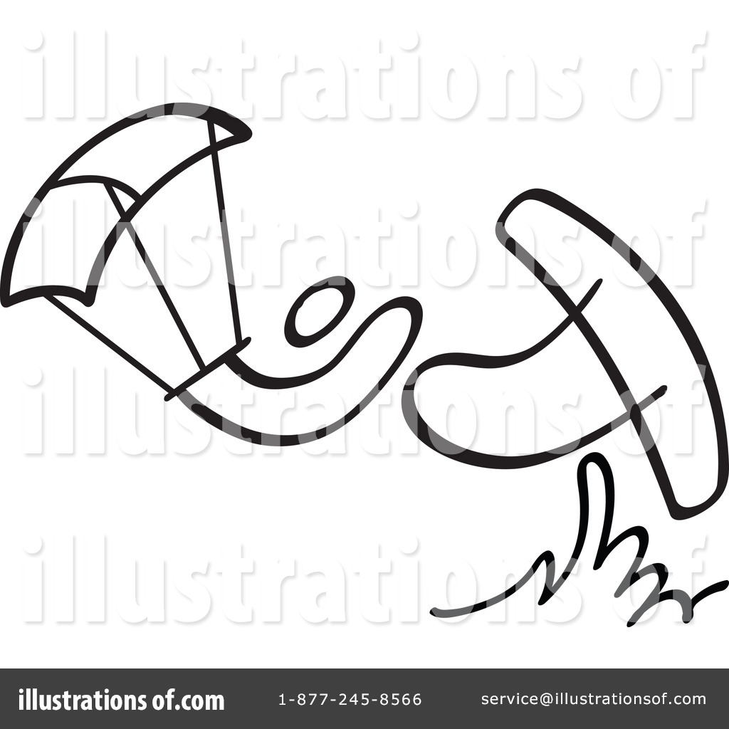 kite surfing clipart 1191398 illustration by zooco