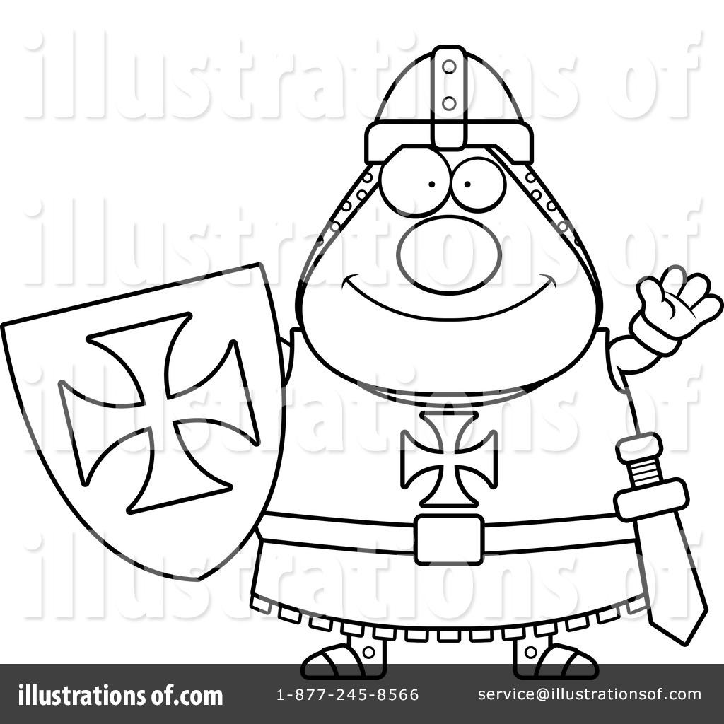 knight templar clipart 1241084 illustration by cory thoman