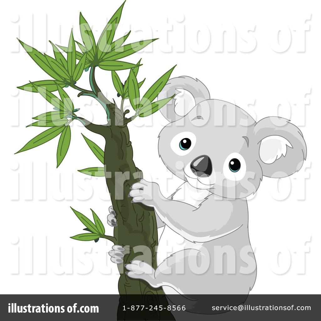 Koala Clipart #1059300 - Illustration by Pushkin