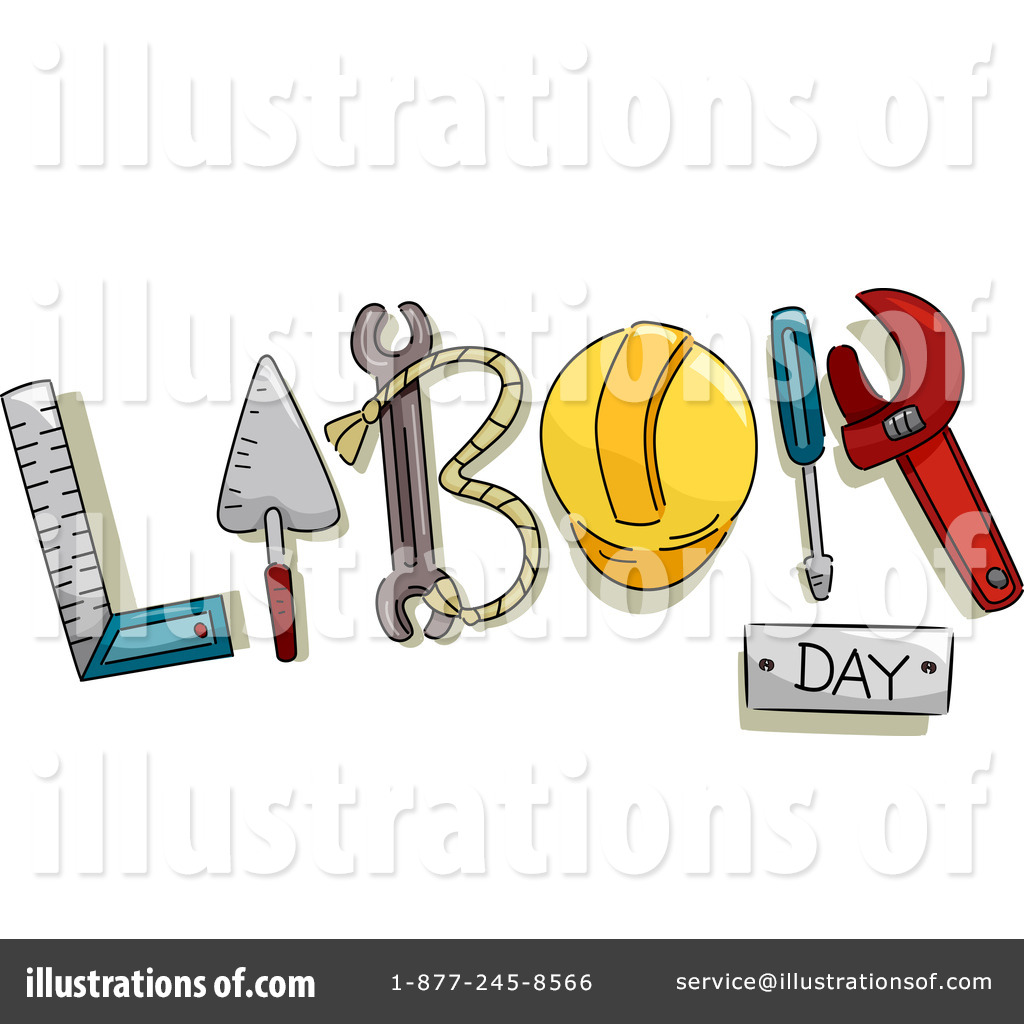 Labor Day Clipart 1129333 Illustration By Bnp Design Studio