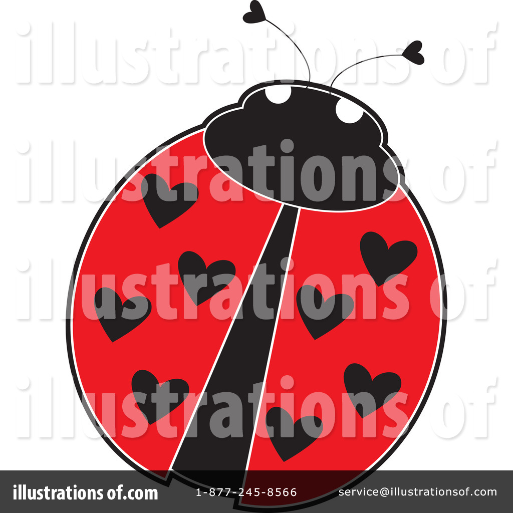ladybug clipart 1092967 illustration by maria bell