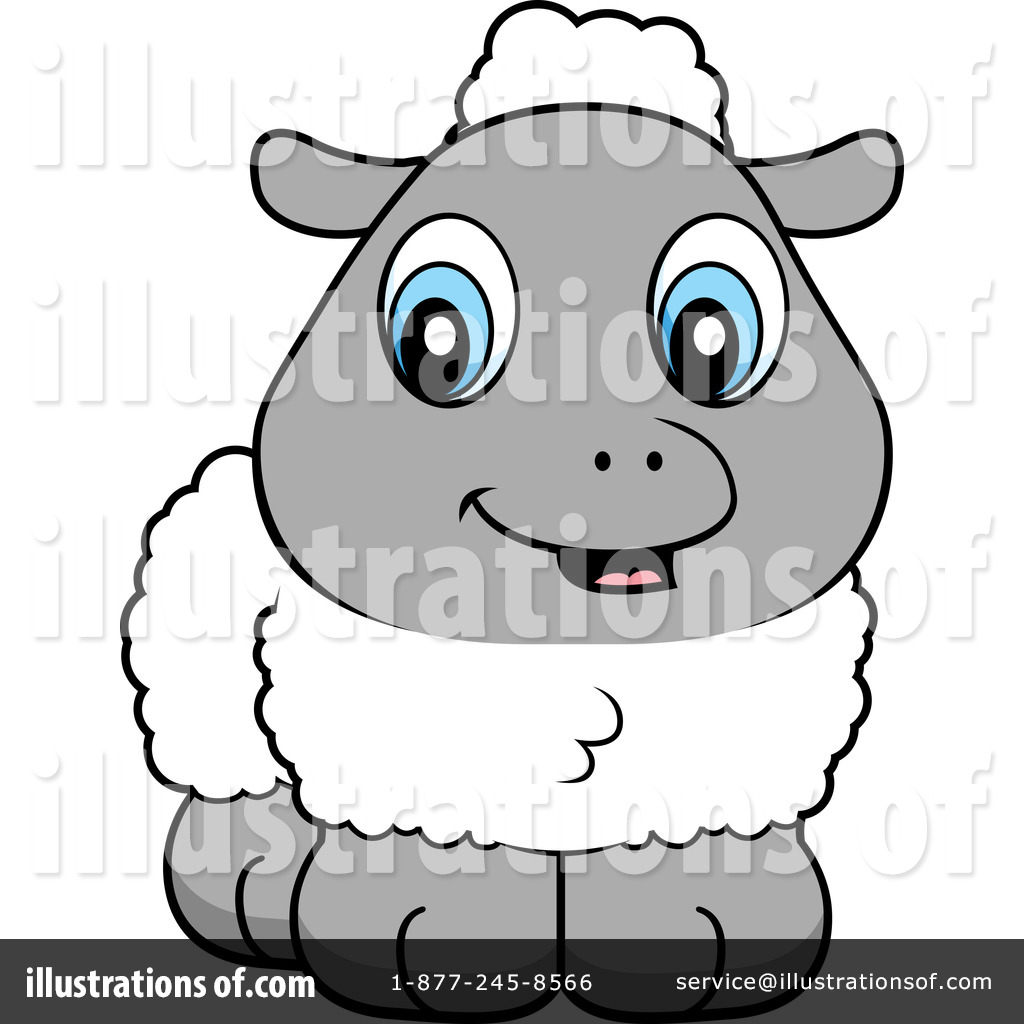 Lamb Clipart #102740 - Illustration by Cory Thoman for Baby Lamb Clipart  155sfw