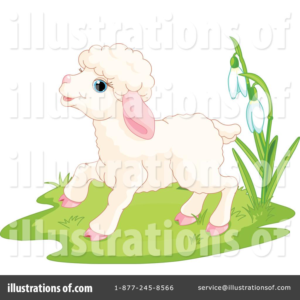 Lamb Clipart #1052129 - Illustration by Pushkin for Baby Lamb Clipart  75tgx