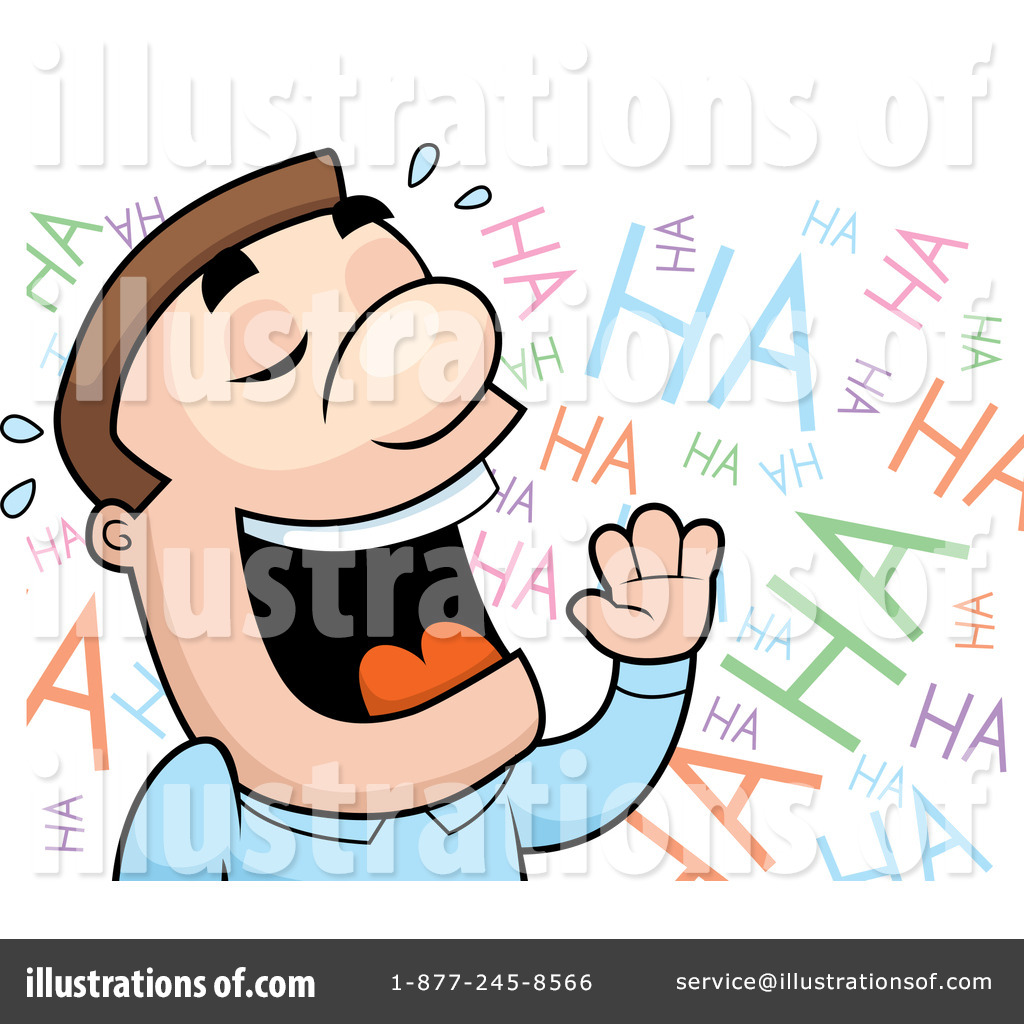 Laughing Clipart #102480 - Illustration by Cory Thoman