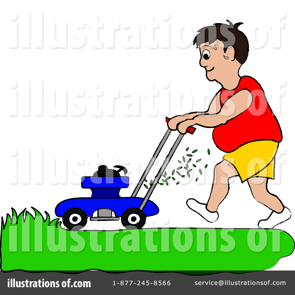 lawn mowing clipart 94189 illustration by pams clipart rh illustrationsof com moving clip art free images moving clip art man