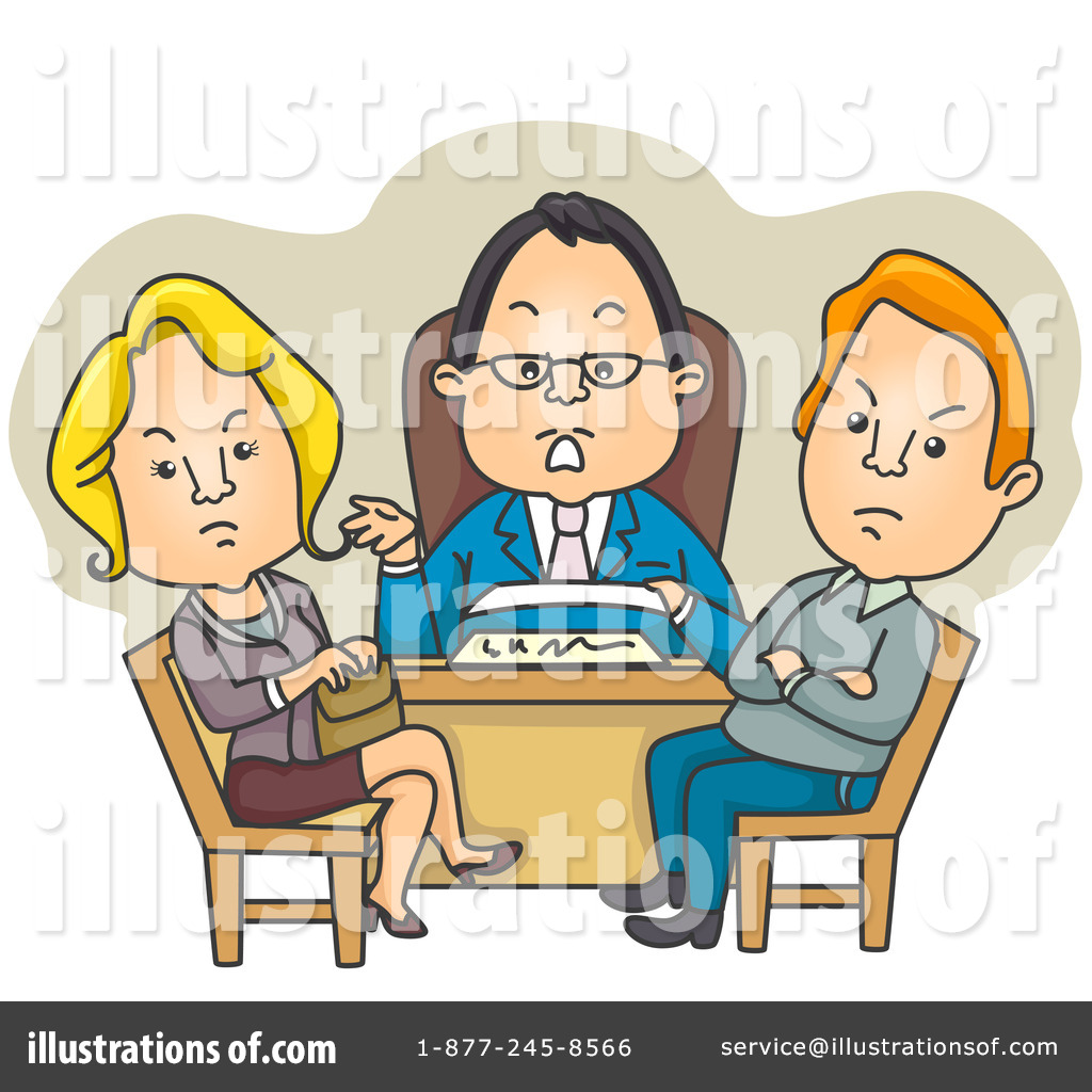 Lawyer Clipart #226210 - Illustration by BNP Design Studio