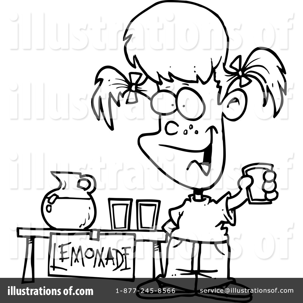 lemonade clipart 441873 illustration by toonaday