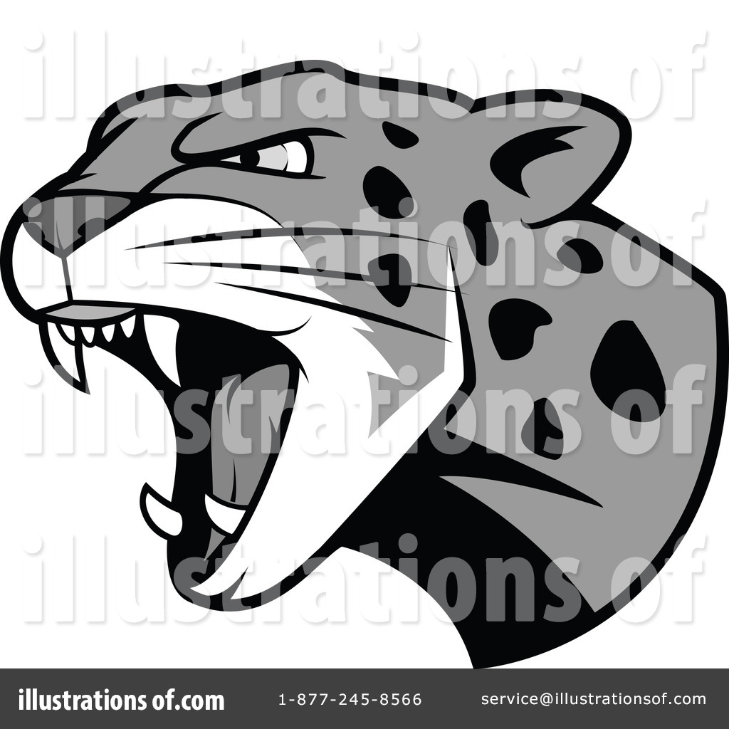 Royalty Free RF Leopard Clipart Illustration By Vector Tradition SM