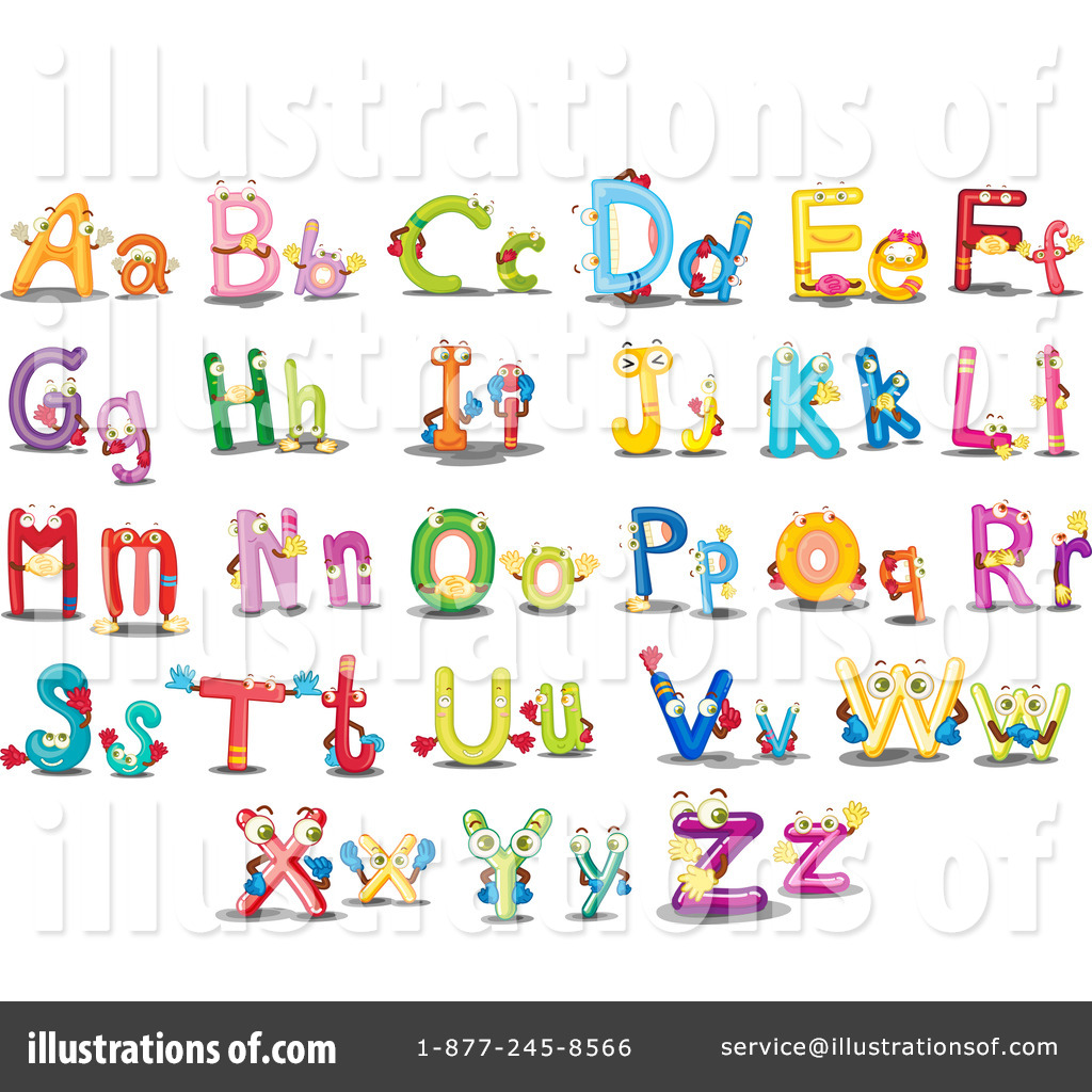 letters clipart 1118237 illustration by graphics rf rh illustrationsof com letter clipart alphabet letter clipart images