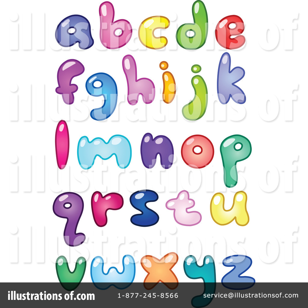 Letters Clipart #214954 - Illustration by yayayoyo