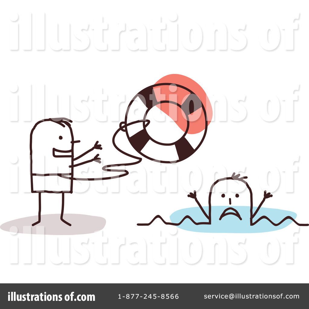 Lifeguard Clipart #1055752 - Illustration by NL shop