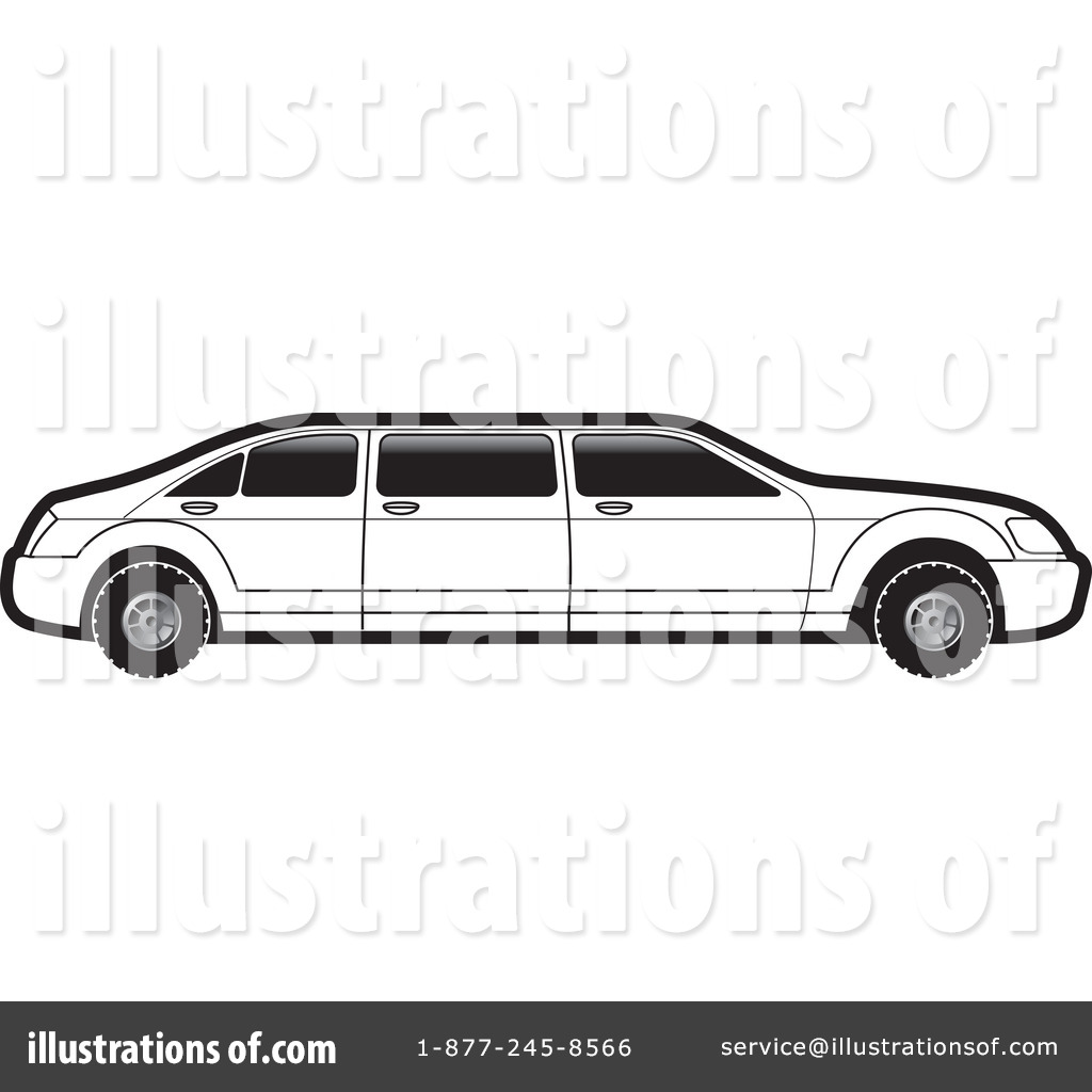 Limo Clipart #1100968 - Illustration by Lal Perera