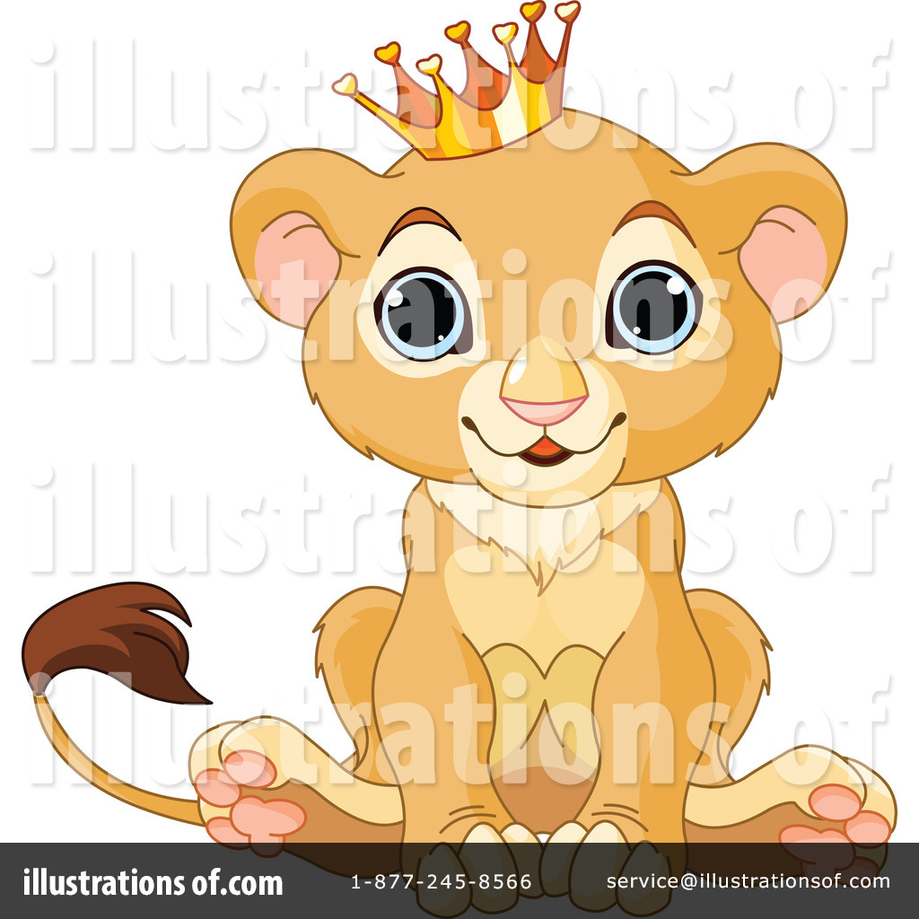 lion clipart 1056908 illustration by pushkin