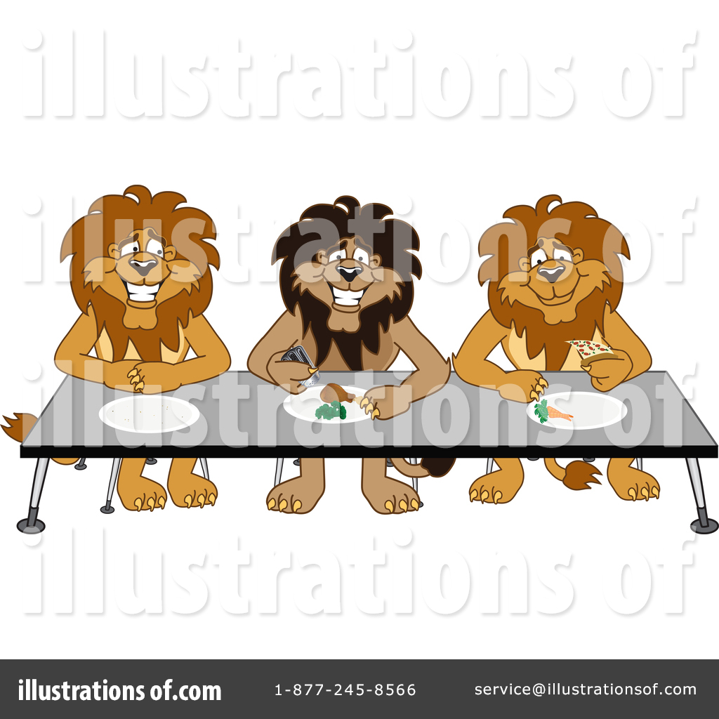 Lion School Mascot Clipart #1361751 - Illustration by Toons4Biz