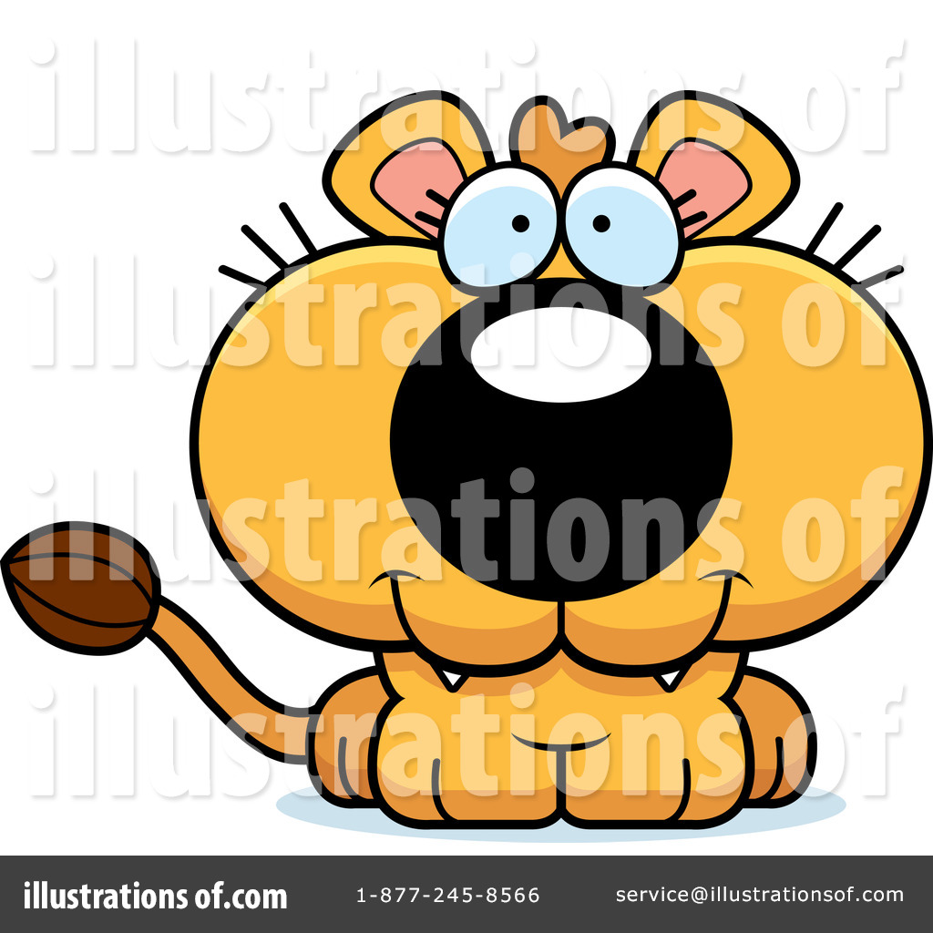 lioness clipart 1091269 illustration by cory thoman rh illustrationsof com lion and lioness clipart lioness clipart images
