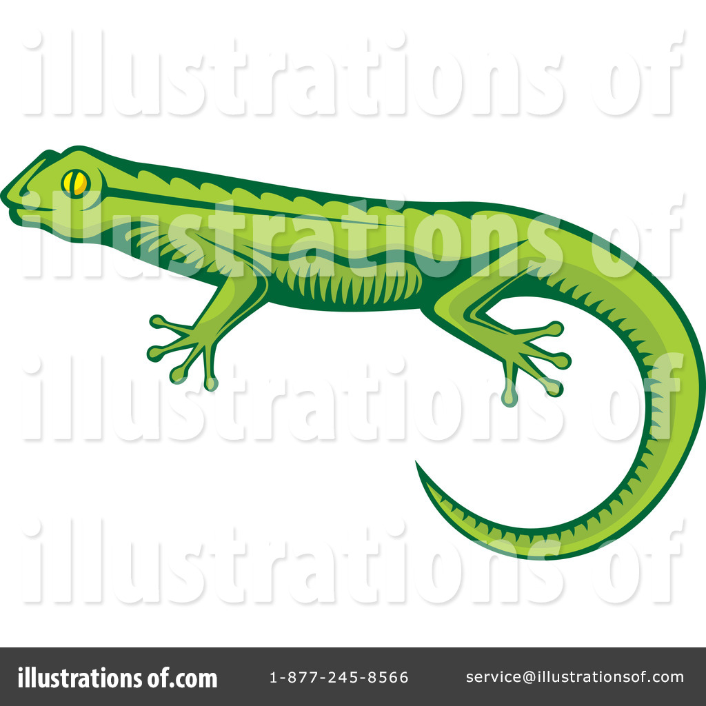 Lizard Clipart #1083004 - Illustration by Any Vector
