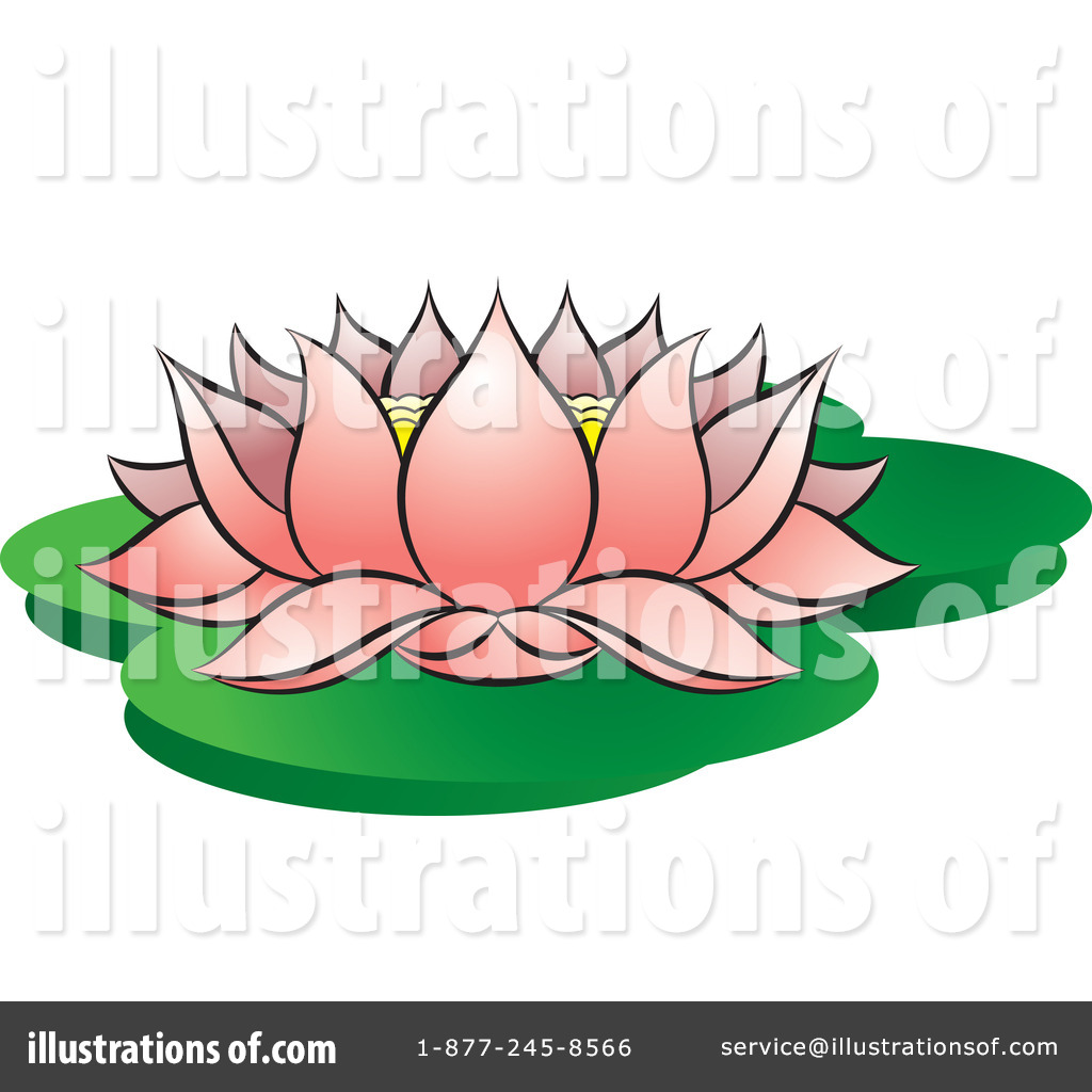 Lotus flower clipart 69102 illustration by rosie piter royalty free rf lotus clipart illustration 100352 izmirmasajfo Images