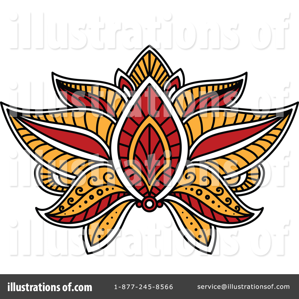 Lotus flower clipart 1377734 illustration by vector tradition sm royalty free rf lotus flower clipart illustration 1377734 by vector tradition sm izmirmasajfo