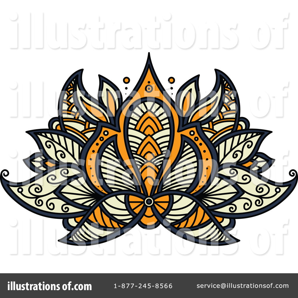 Lotus flower clipart 1377737 illustration by vector tradition sm royalty free rf lotus flower clipart illustration 1377737 by vector tradition sm izmirmasajfo