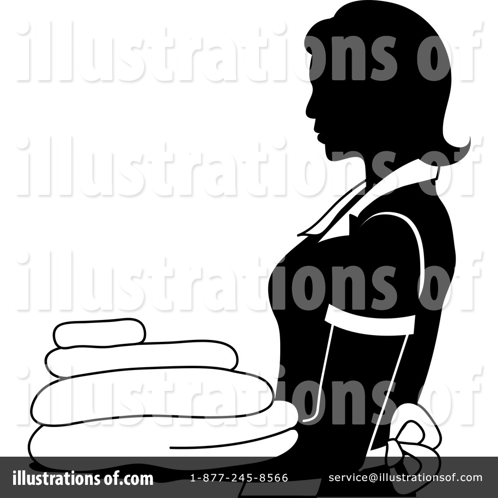 Maid Clipart #1097219 - Illustration by Pams Clipart