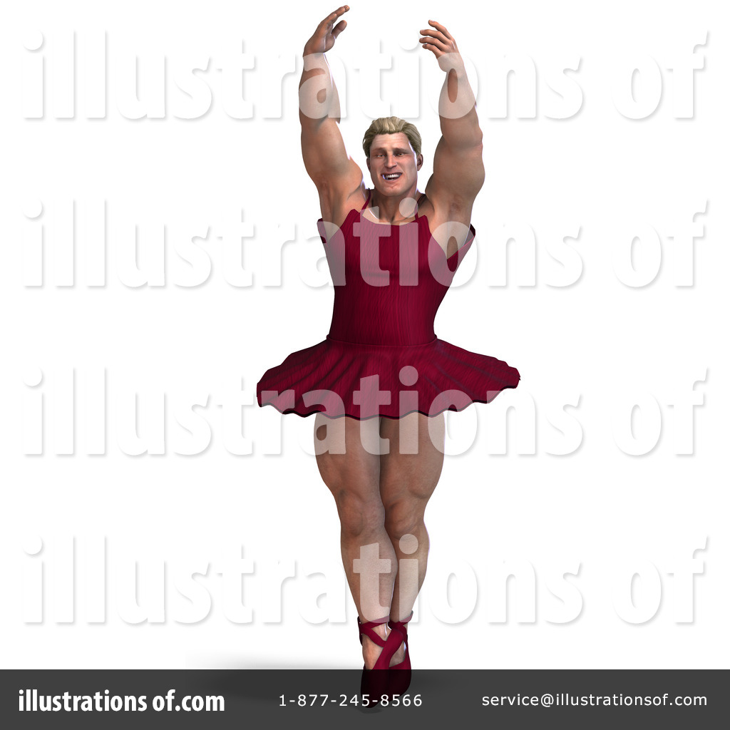 Male Ballerina Clipart #1075078 Illustration by Ralf61