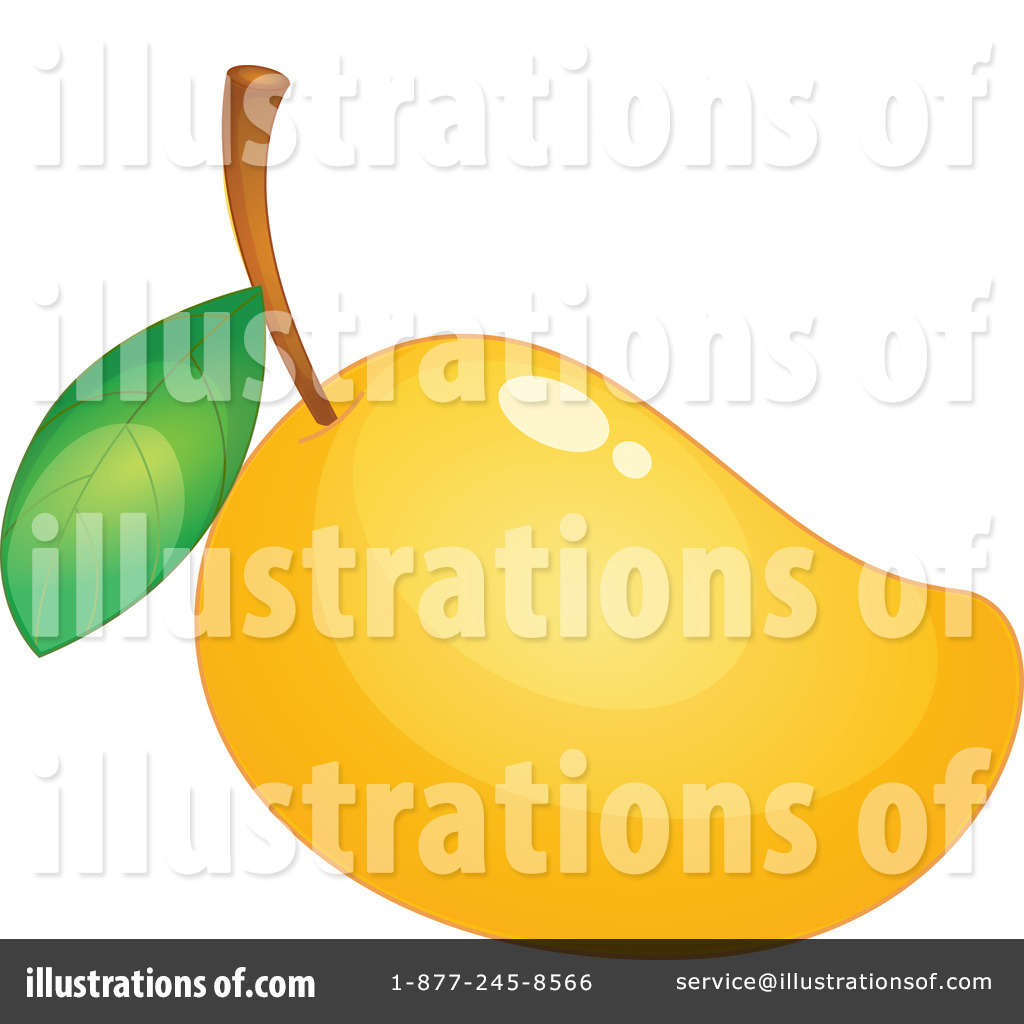 Mango Clipart #1134285 - Illustration by colematt