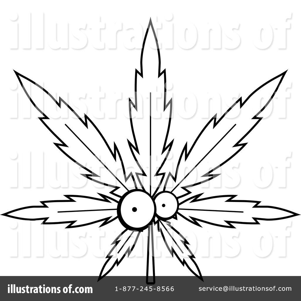Royalty Free RF Marijuana Clipart Illustration 1156949 By Cory Thoman