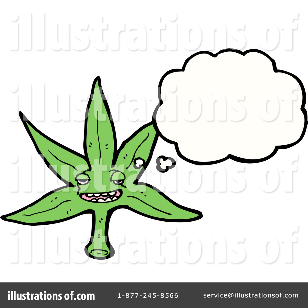 Marijuana Clipart #1229205 - Illustration by lineartestpilot