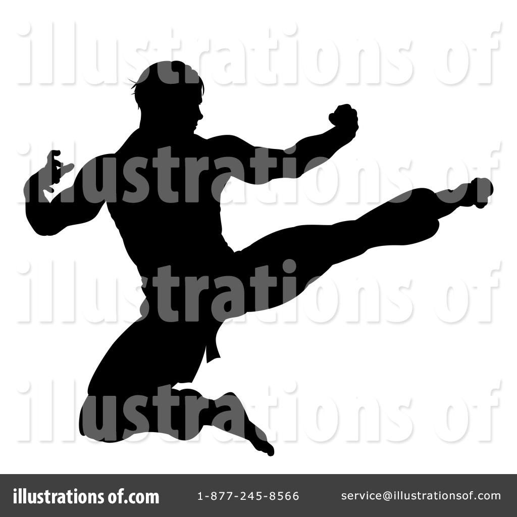 Martial Arts Clipart 1521067 Illustration By Atstockillustration
