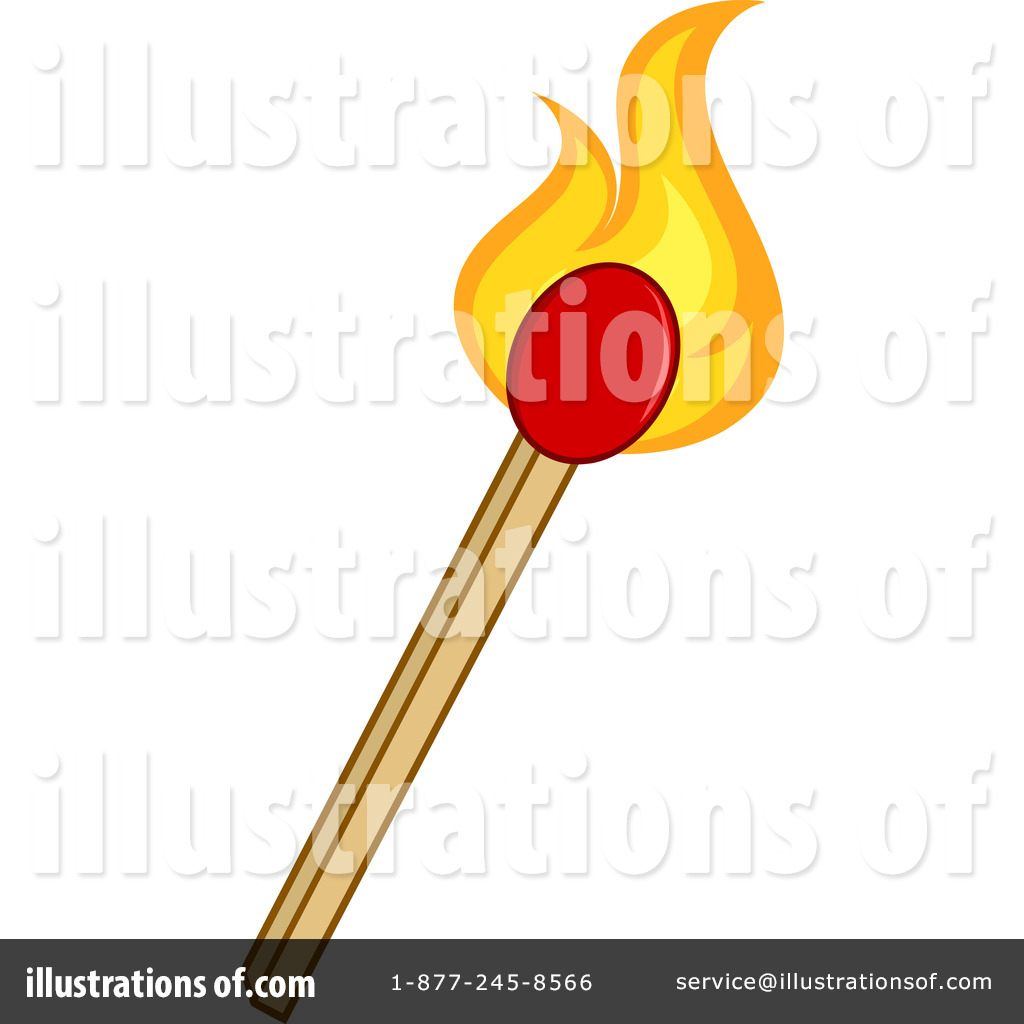Matches Clipart #1260395 - Illustration by Hit Toon for Matches Clip Art  192sfw