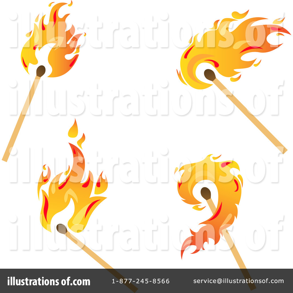 Matches Clipart #1067056 - Illustration by Vector Tradition SM for Matches Clip Art  570bof